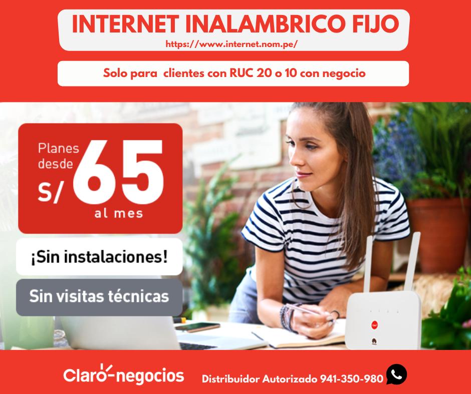 Internet OLO Inalambrico