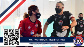 THE U.S. 2021-2022 FXC TRYOUT SEASON CONTINUES. NEW DATES ANNOUNCED