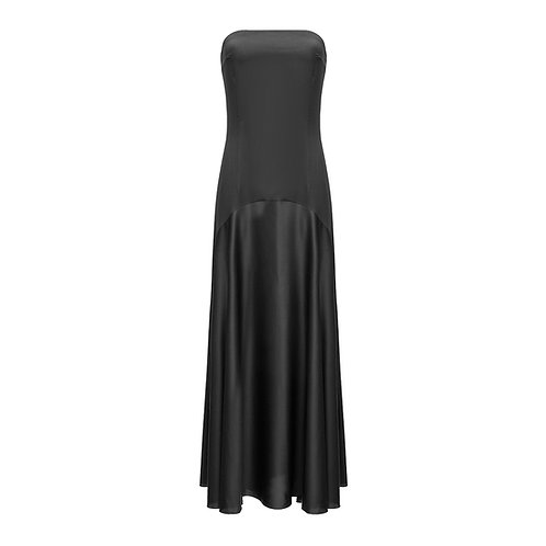 Silk Dress With Open Shoulders NEW 2021