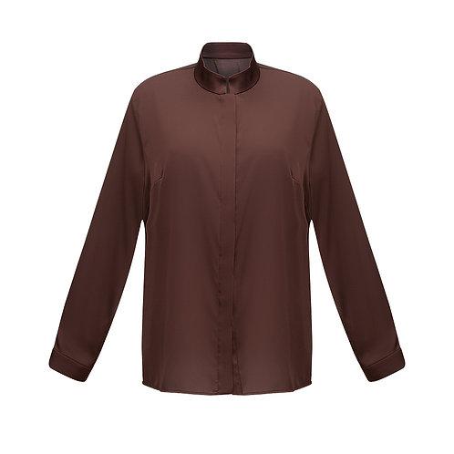 Рубашка из натурального шелка