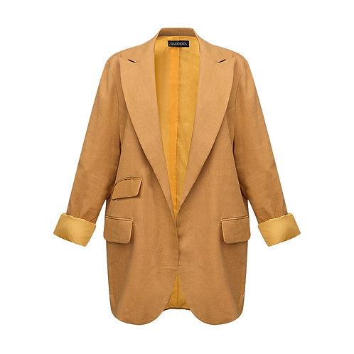 Linen oversize jacket