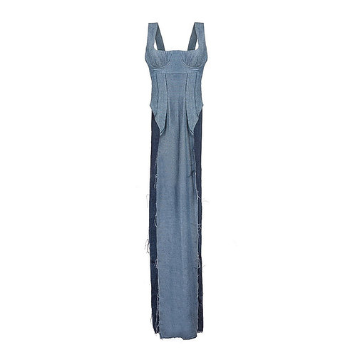 Dress with side cutouts SS'20