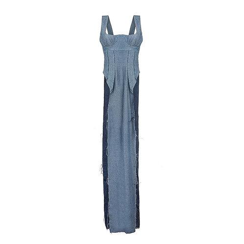 Платье с вырезами по бокам SS'20