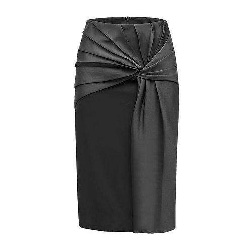Silk Skirt Knot Front NEW 2021