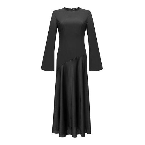 A-Silhouette Silk Dress NEW 2021