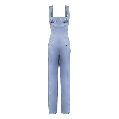 Jumpsuit with corset