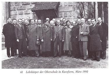 Lehrerfoto 1950