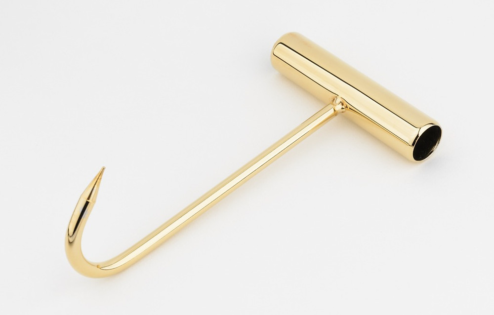 Carnal Prophet Gold-Plated Meat Hook