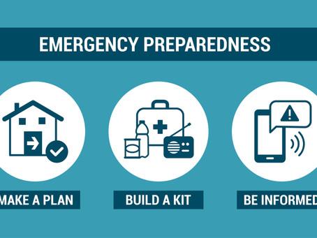 Creating a basic preparedness plan
