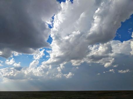 Dust storms in September