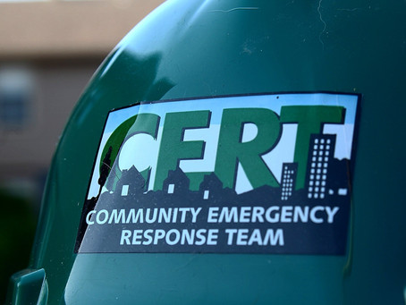 Why you should get CERT trained.