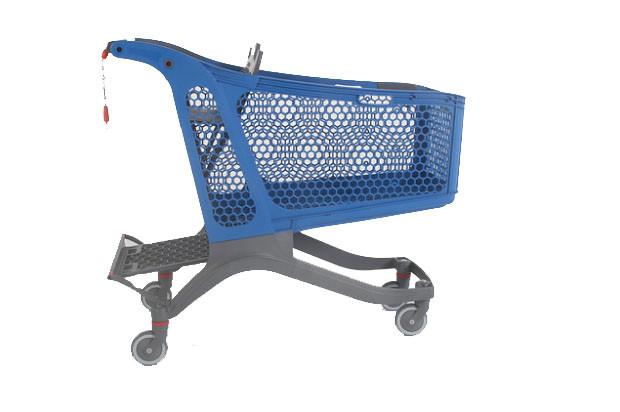 Single Plastic Trolley