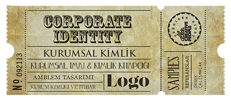 Alkn Creative People grafik tasarım, bilet