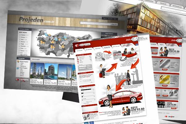 Alkn web tasarım Arayüz tasarım