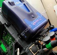 Endura 10 series battery in situ