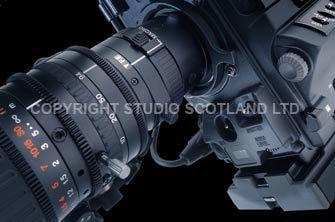 Fujinon X17 lens closeup