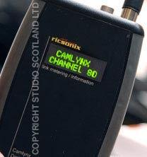 Camlynx Receiver display