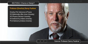 Photo of astronomer Prof Danny Faulkner