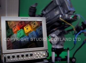 close up of Sony Hi Def LMD-9050 monitor