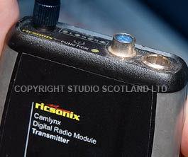 Camlynx Transmitter close up