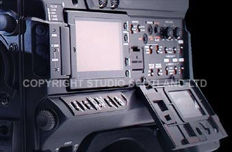 Sony 350 left side view closeup with open side panel