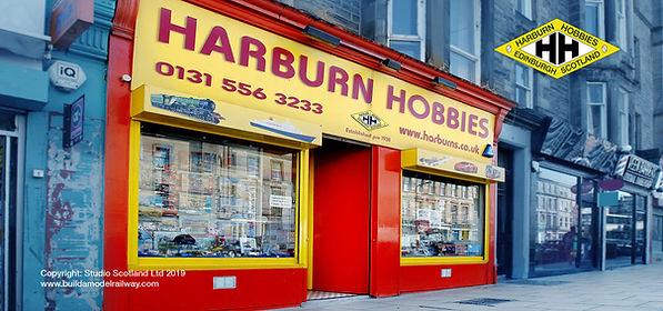Harburn Hobbies in Leith, Edinburgh