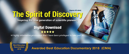 Spirit of Discovery awarding winning documentary