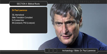 Photo of Dr Paul Lawrence (Biblical Archaeology)