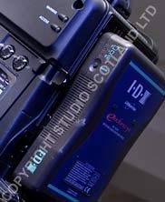 IDX Endura 7 battery in situ