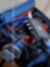 Camlynx TX, Sound Devices 302 Mixer and Petrol bag