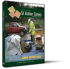 Masterstroke making lime mortars with the professionals.