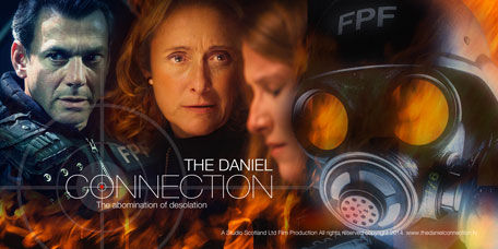 The Daniel Connection poster with Gray O'Brien, Caroline Goodall and Morgan Carberry