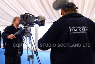 Pre-filming checks performed at event.