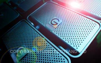 3 X G-RAID stacked drives