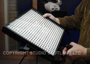 "The Lite Panels 1x1 is a 12"" sq LED unit."