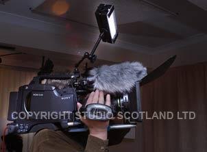 An on-camera quality light source.