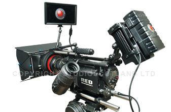 RED MX Camera alternate view