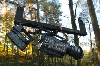 The heavier lenses can make make mounting the camera is certain situations a challenge.