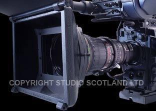 Fujinon X17 lens with Chrosziel Matte Box