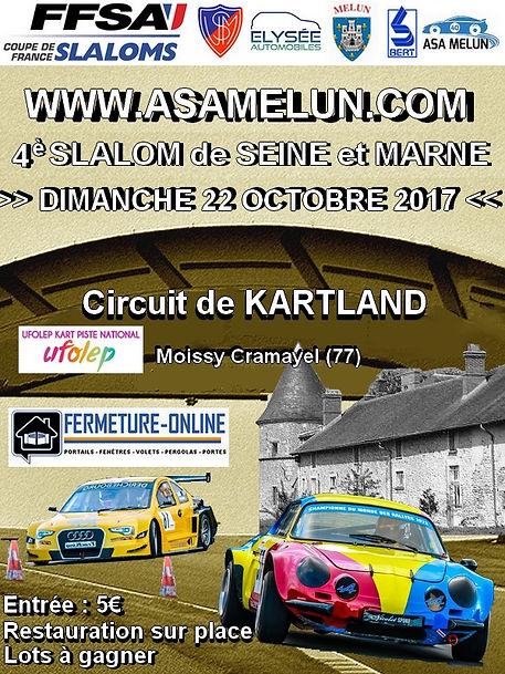 Slalom de Seine et Marne 2017
