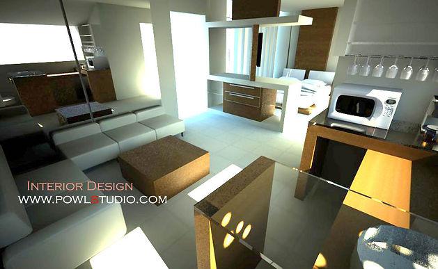 Dekorasi Interior apartemen