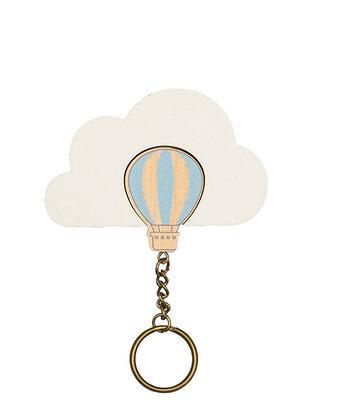 Porte clés Montgolfière