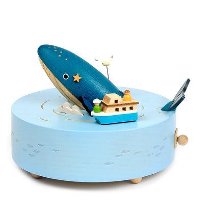 Boîte à musique Baleine n°32