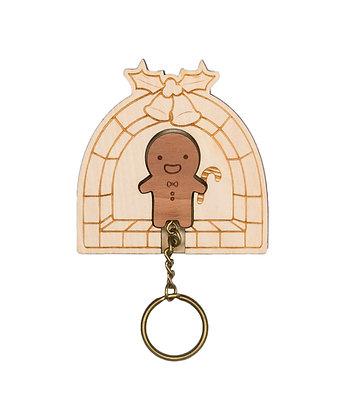 Porte clés Pain d'épice