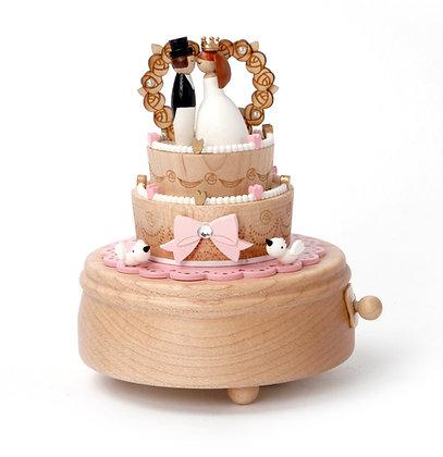 Boîte à musique Gâteau de Mariage n° 27