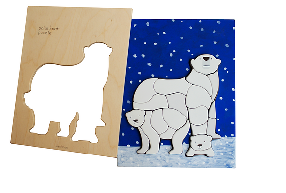 Puzzle Ours Blanc