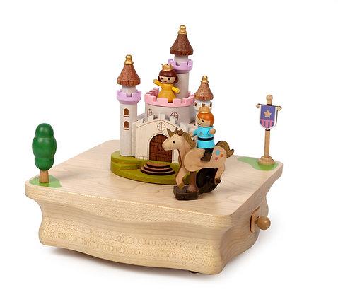 Boîte à Musique Licorne, Prince & Princesse n°46