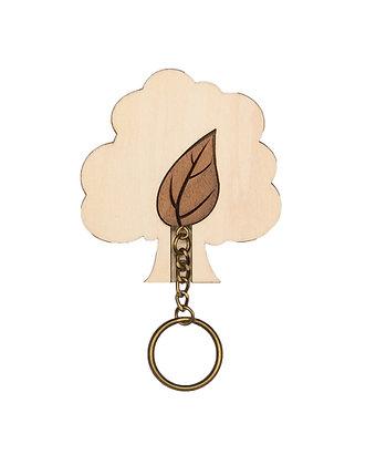 Porte clés Feuille