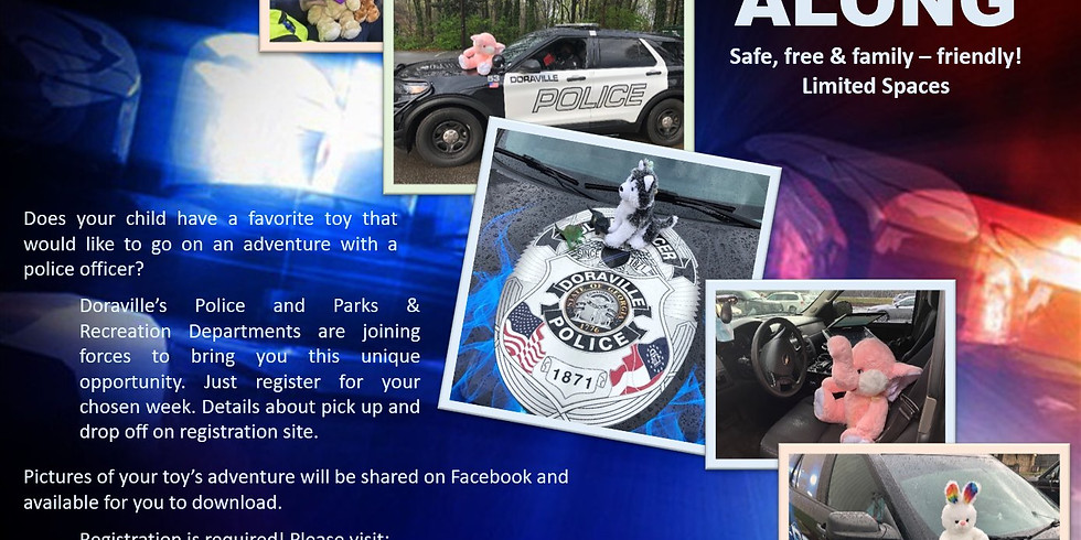 Toy Ride Along, Doraville Police Department