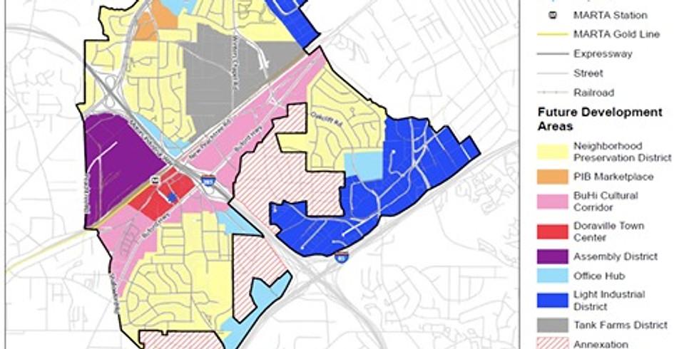 Doraville Planning Commission: Rezoning Buford Highway Corridor